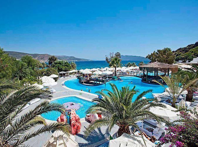 Salmakis Beach Resort wczasy Turcja Bodrum Gumbet